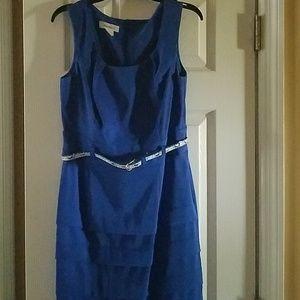 Dress Blue  sleeveless
